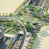 Development of Western Part of King Abdullah Road Project